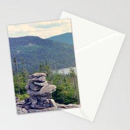 inukshuk - Parc National de la Gaspésie (Québec, Canada) Stationery Cards