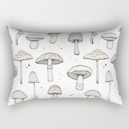 Mushrooms Rectangular Pillow
