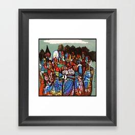 2014 SHE CRIED IN NIGERIA Framed Art Print
