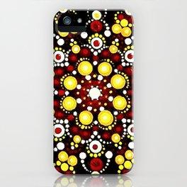 Mandala 091018a iPhone Case