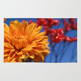 Bright, Vibrant, Happy Flowers Rug