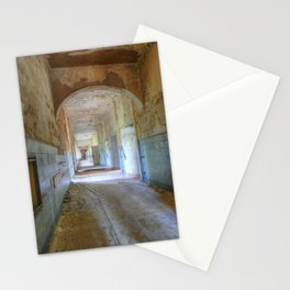 Beelitz Heilstaetten hallway, Lost Places Stationery Cards