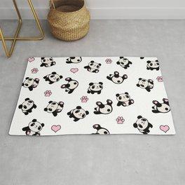 Panda pattern Rug