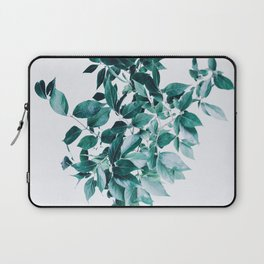 Minimal Cluster Leaves Laptop Sleeve
