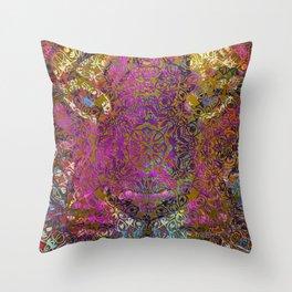 magic mandala 42 #magic #mandala #decor Throw Pillow