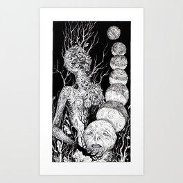Tarot - The Moon Art Print