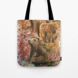 Homage to Bears Tote Bag