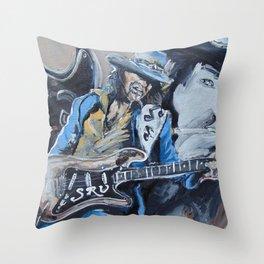 Stevie Ray Vaughn tribute Throw Pillow