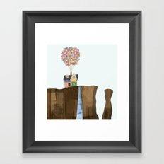 UP (Paradise Falls) Framed Art Print