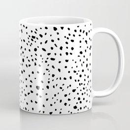 spotty dotty in black and white Coffee Mug