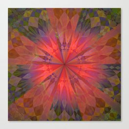 Light burst Canvas Print