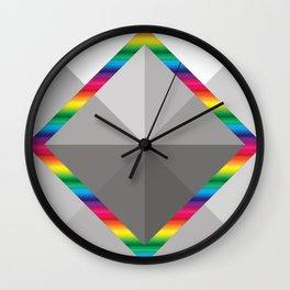 MultiSquare Prism Wall Clock