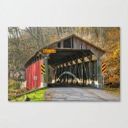 Speakman Covered Bridge Canvas Print