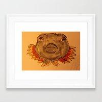phish Framed Art Prints featuring phat phish by Mesha Florez