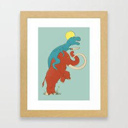 Charge! Framed Art Print