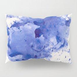 Blue Splotch Pillow Sham