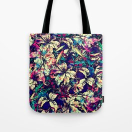 Watercolor Dragon Lilies  Tote Bag