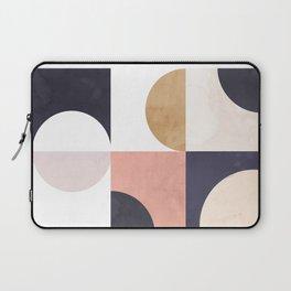 Geometric Moontime 1 Laptop Sleeve