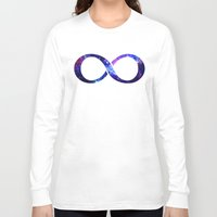 la Long Sleeve T-shirts featuring Galaxy by Matt Borchert