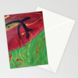 Line Up and Paint Holidays Stationery Cards