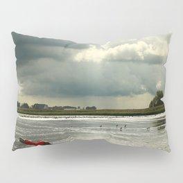 River Scene Pillow Sham