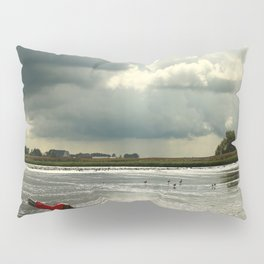 River Scene Pillow Sham