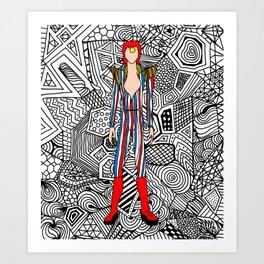 Heroes Fashion 3 Kunstdrucke