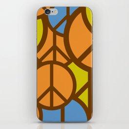 Cool Colorful Groovy Peace Symbols #society6 #decor #buyart #artprint iPhone Skin