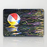 pool iPad Cases featuring Pool by Renee Trudell