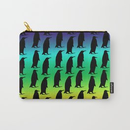 Penguin Rainbow Carry-All Pouch