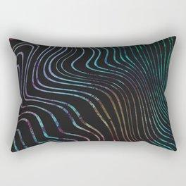 Wave Rainbow Rectangular Pillow