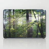 cabin iPad Cases featuring Cabin Light by Martin A. Bartels