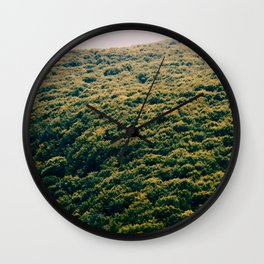 Sun Forest Wall Clock