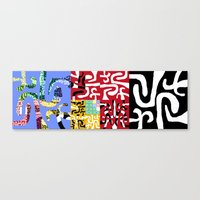 matisse Canvas Prints featuring Matisse by DARWIN STEAD