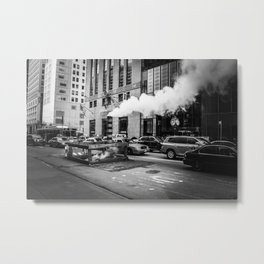 Fifth Avenue (black&white) Metal Print
