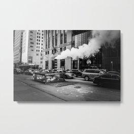 Fifth Avenue (black&white) Metal Print