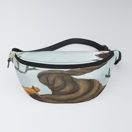 Ratatosk and the Eagle Fanny Pack