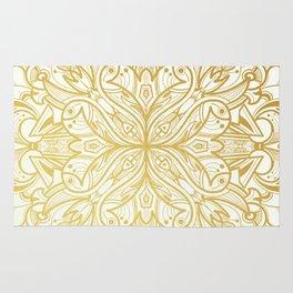 Gold in Mandala Rug