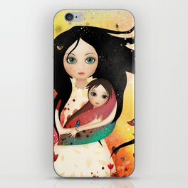 Elvish mother iPhone Skin