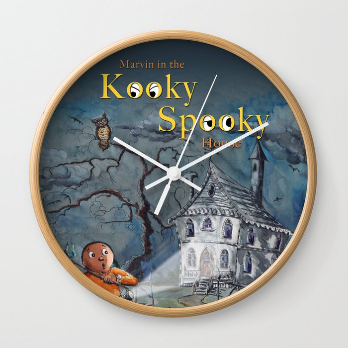 Marvin in the Kooky Spooky House Wall Clock