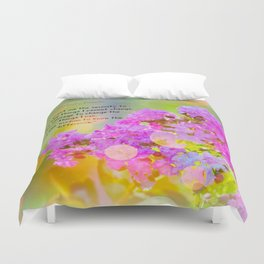 Serenity Prayer - II Duvet Cover