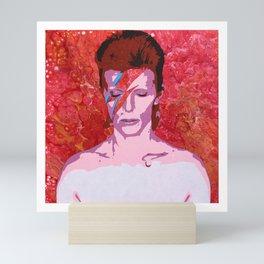 Bowie - Aladdin Sane Mini Art Print