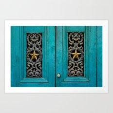 Architecture Detail - Star Art Print