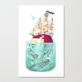 Ship Head Canvas Print
