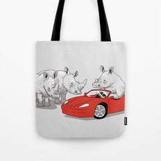 Overcompensating Tote Bag