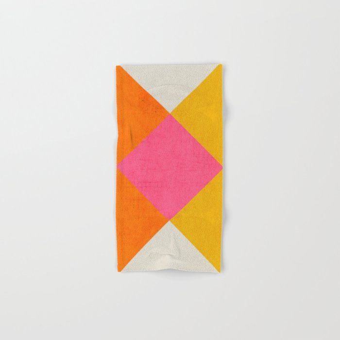 summer triangles Hand & Bath Towel