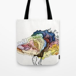 To Build Castles in Air. Tote Bag