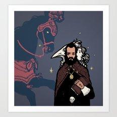 Black Magic #1 Art Print