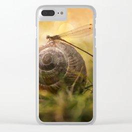 Garden Stories III Clear iPhone Case
