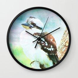 Laughing Kookaburra Wall Clock